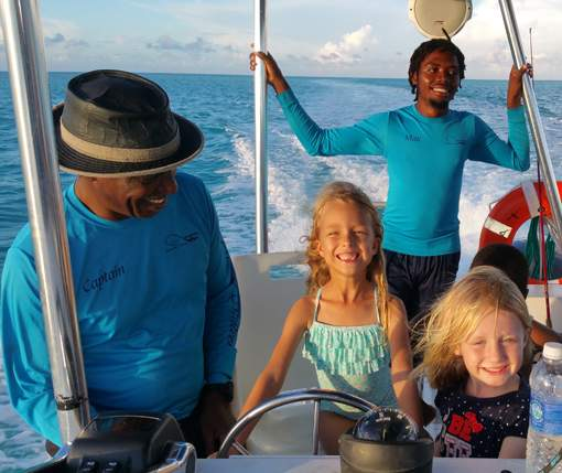 Talbot adventure private charter tours, fishing, excursions in Turks and Caicos