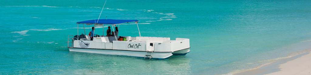 Overview boat excursion in Turks and Caicos