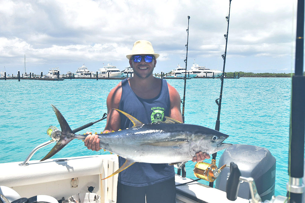 Fishing Turks and Caicos with Talbot adventure