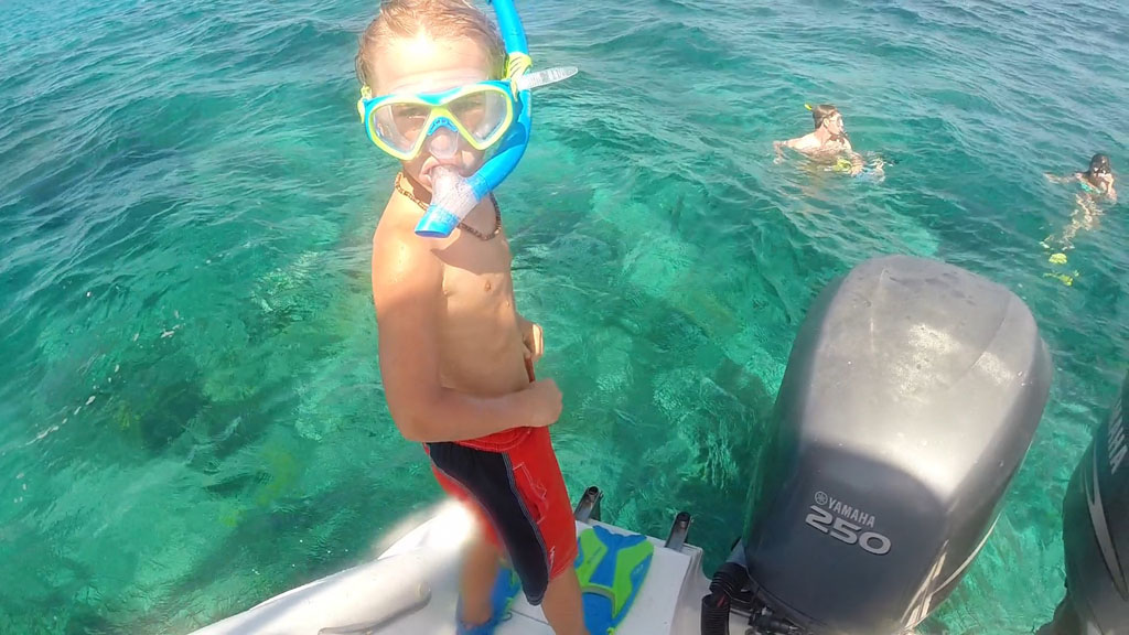 Snorkeling Turks and Caicos with Talbot adventure