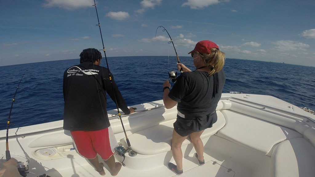 Reef fishing Turks Caicos with Talbot Charters